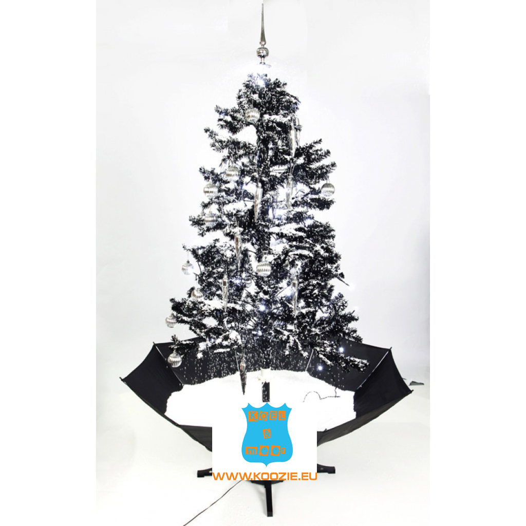 Snowing And Musical Christmas Tree: Snowing Christmas Tree 170 Or 85 Cm Incl Snow, Balls And Music