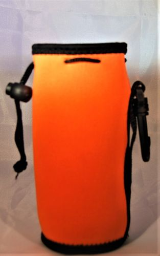 Bottle cooler orange