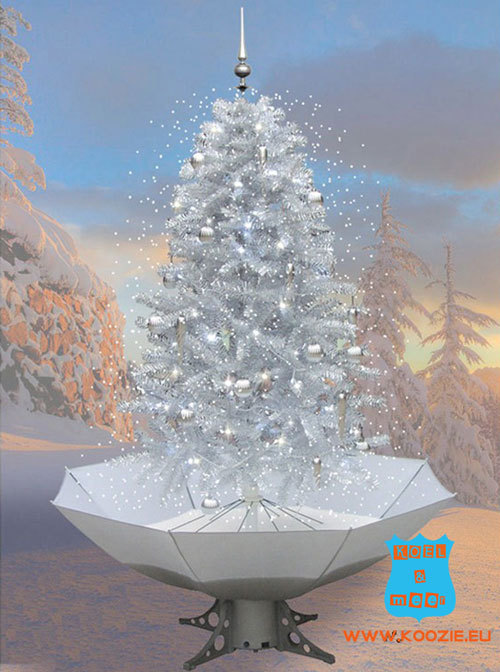 Snowing Christmas Tree.Snowing Christmas Tree 170 Or 85 Cm Incl Snow Balls And Music