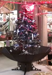 Snowing Christmas tree 170 or 85 cm. From
