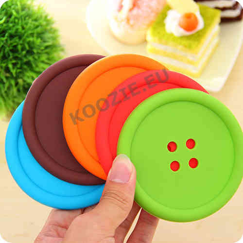Colorful flexible Coasters