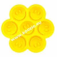 Smiley face cake icecube mould