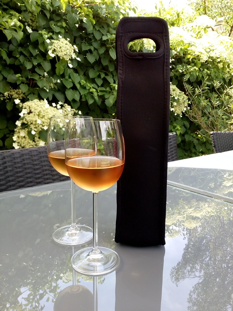 Trendy Wine cooler bag in Black