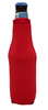 Collapsable Beer Bottle cooler holder Red