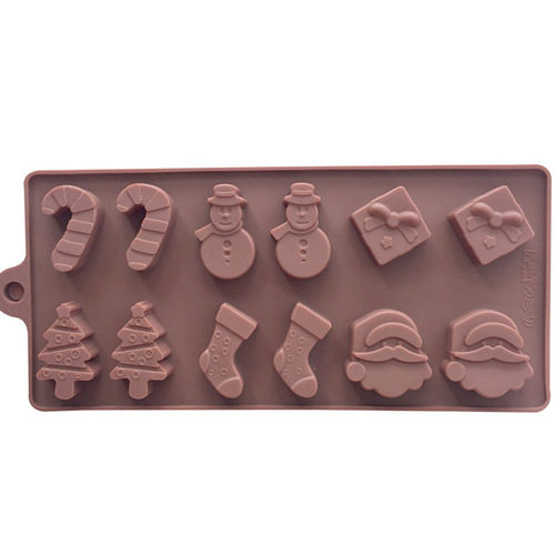 Silicone Christmas mould tray