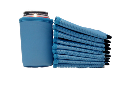 Collapsible can cooler holder Exclusive blue