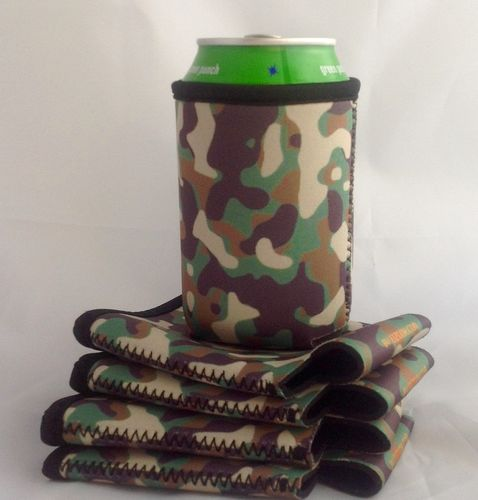 Camouflage Can Cooler Holder