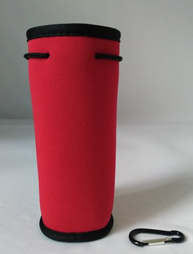 bottle cooler holder red 1 colour print