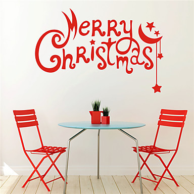 Merry Christmas window - wall stickers