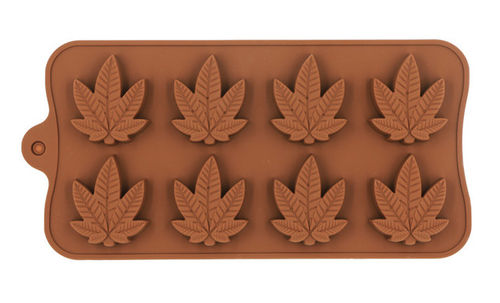 Weed silicone mold