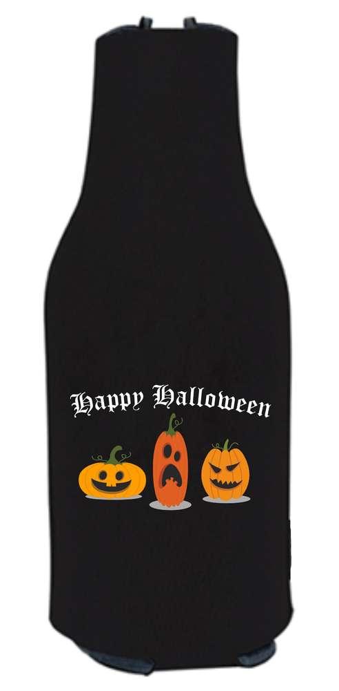 Halloween Bier.Halloween Beer Bottle Cooler Holder