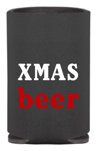 Can Cooler holder - koozies Theme Christmas