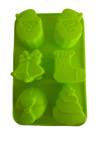 Christmas mold Gifts - Santa Claus - Christmas tree