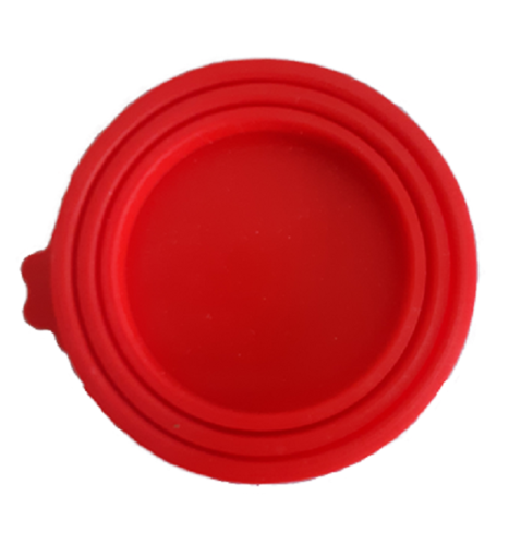 2 Silicone Sealing lids for canned food